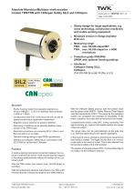 Rotary encoder TRN58/S4 SIL2