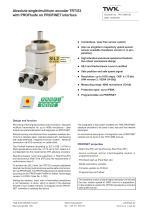 Rotary encoder TRT/S3 SIL2