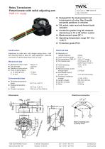 Rotary transducer PMR411
