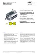 TBA58/R2 Redundant analogue single-turn rotary encoder