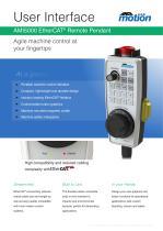 AMI5000 EtherCAT Remote Pendant