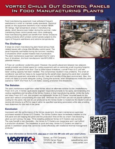 Vortec CaseStudy Food Manufacturing