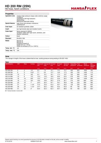 HD 200 RM (2SN)