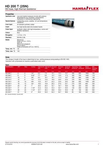 HD 200 T (2SN)