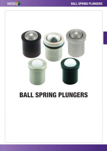 WDS Ball Spring Plungers