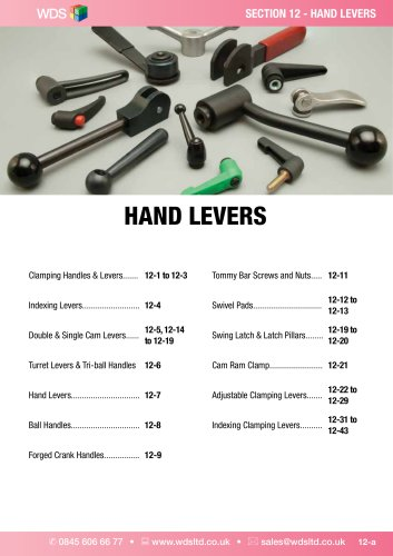 WDS HAND LEVERS