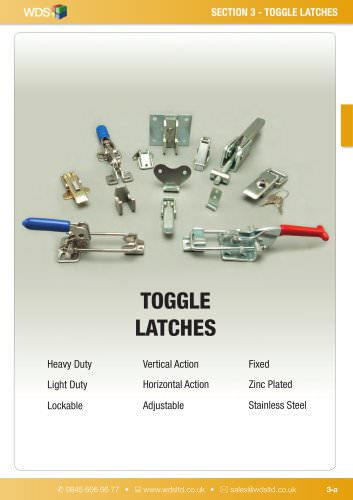 WDS Toggle Latches