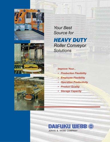 Heavy-Duty Roller Conveyor