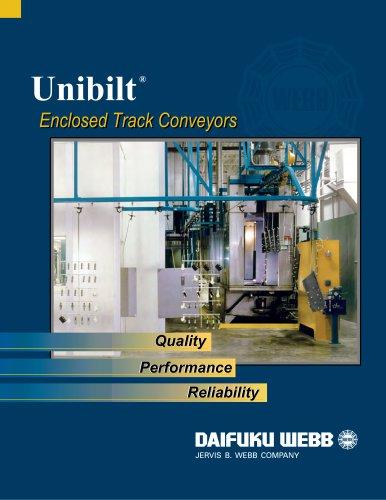 Unibilt Encolsed Track Conveyors