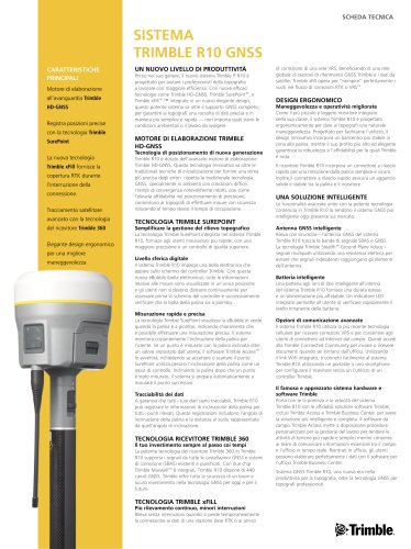 Sistema Trimble R10 GNSS