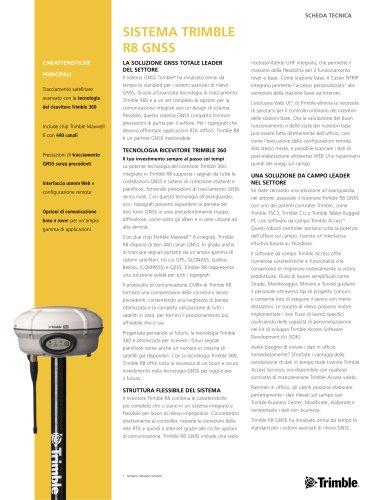 sistema trimble R8 GNSS