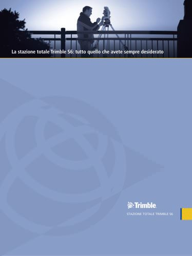 Trimble S6 Total Station Brochure - Italian
