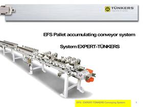 Presentation EFS conveyor System EXPERT-TÜNKERS
