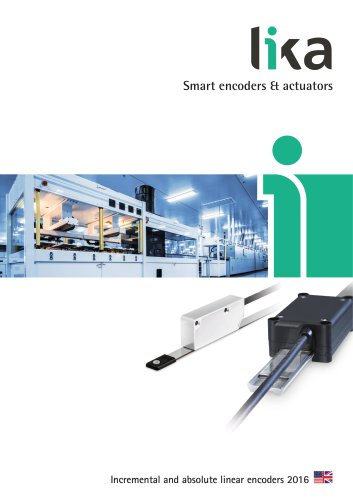 LINEPULS-LINECOD absolut and incremental linear encoders
