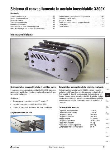 Conveyor system X300X