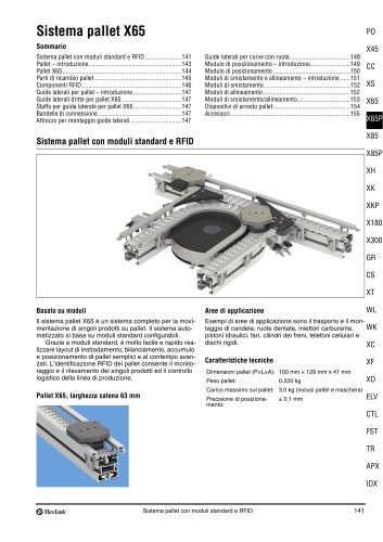 Pallet system X65