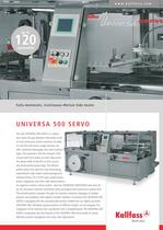 Fully-Automatic, Continuous-Motion Side Sealer UNIVERSA 500 SERVO
