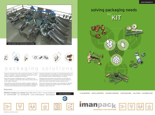 PACKAGING SOLUTIONS for KIT