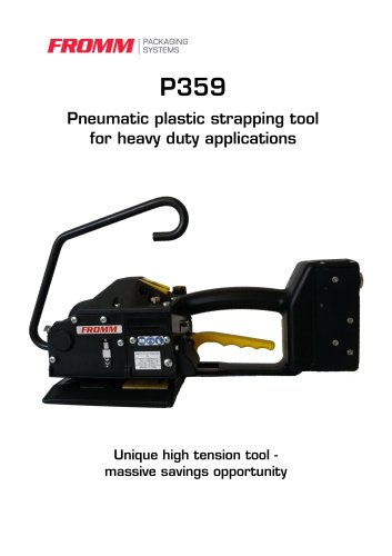 P359 Pneumatic plastic strapping tool