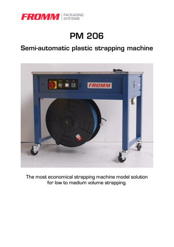 Strapping machines PM206