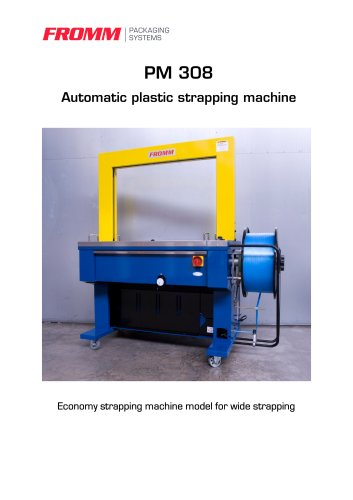 Strapping machines PM308