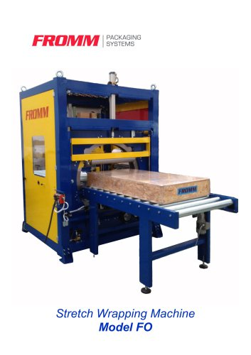 Stretch Wrapping Machine Model FO