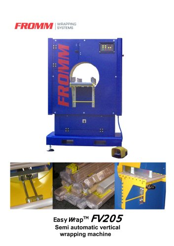 Stretch wrapping machines Vertical wrapper