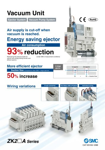 ZK2-A Series - Vacuum Unit Generator System and Vacuum Pump System