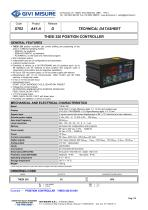 THESI 320 POSITION CONTROLLER