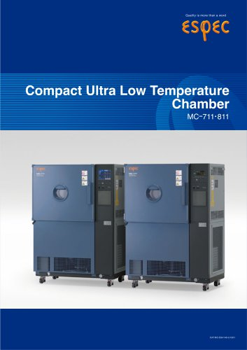 Compact Ultra Low Temperature Chambers