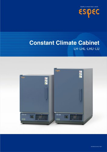 Constant Climate Cabinet