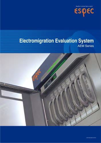 Electromigration Evaluation System (AEM-2000)