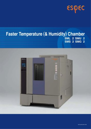 Faster Temperature (& Humidity) Chambers