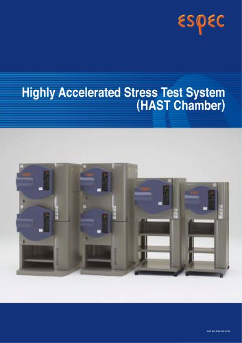 Highly Accelerated Stress Test Systems (HAST)