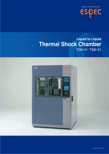 Liquid to Liquid Thermal Shock Chamber