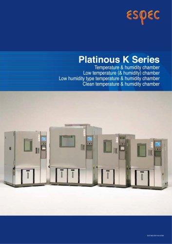 Platinous K Series Temperature (& Humidity) Chambers