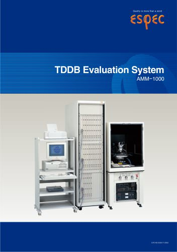 TDDB Evaluation System