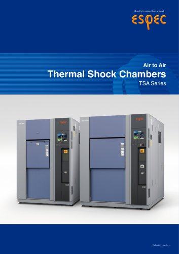 Thermal Shock Chamber TSA series