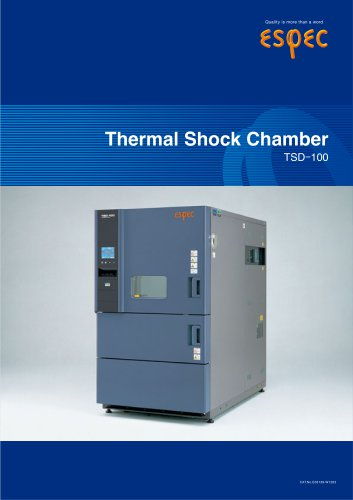 Thermal Shock Chamber (TSD-100)