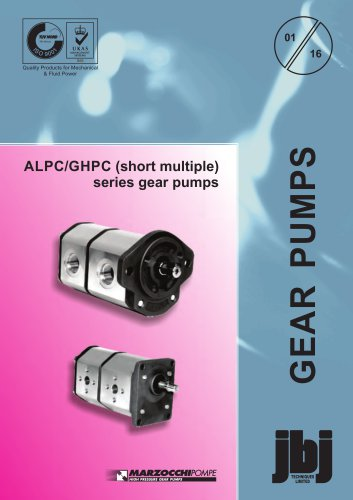 ALPC-GHPC short multiple series gear pumps