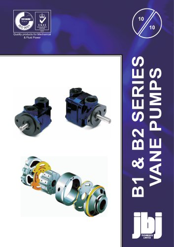 B1 and B2 Series  VANE PUMPS