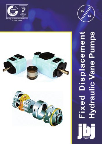 BD Series  HIGH PRESSURE  VANE PUMPS