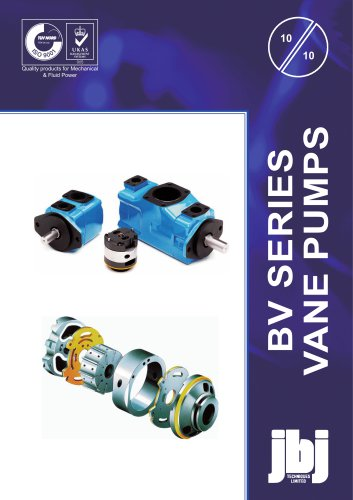 BV Series  VANE PUMPS