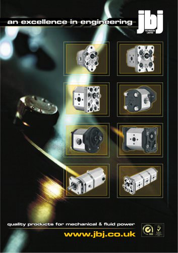 External gear pumps from jbj Techniques Limited