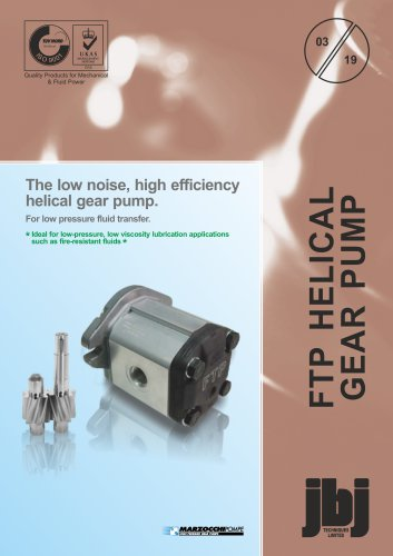 FTP - helical gear fluid transfer pumps