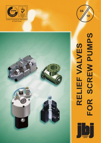 SCREW PUMP  RELIEF VALVES