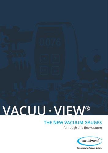 VACUU·VIEW vacuum gauges