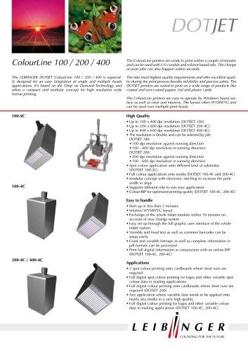 DOTJET ColourLine 100/200/400