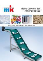 Incline Conveyor Belt KFG-P 2000 ECO
