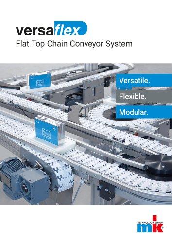 versaflex Flat Top Chain Conveyor System